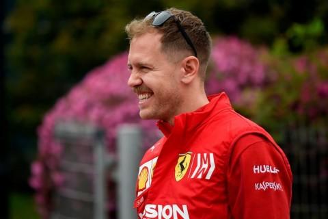 Sebastian Vettel Bertekad Raih Kemenangan di GP Belgia