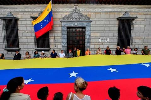 AS Desak Uni Eropa Jatuhkan Sanksi untuk Venezuela