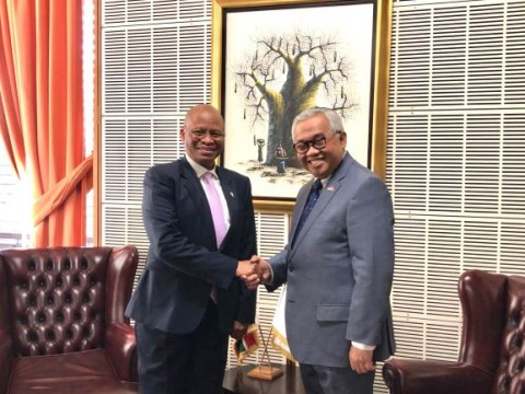 RI Ambassador, South Africa Chief Justice Discuss Cooperation Opportunities