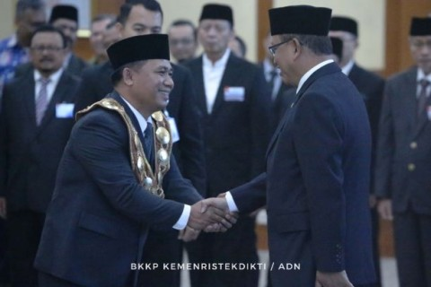 Lantik Pejabat Baru Menristekdikti Tekankan Reformasi Birokrasi