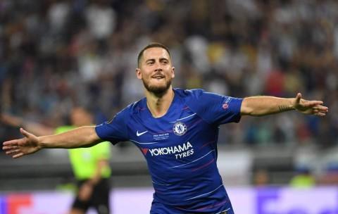 Hazard Raih Gelar Pemain Terbaik Liga Europa 2018--2019