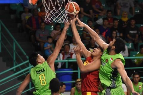 Timnas Basket Gelar Uji Coba untuk Adaptasi Sistem Permainan