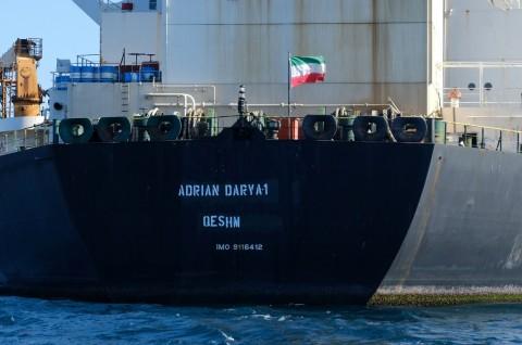 AS Masukkan Tanker Iran ke Daftar Hitam