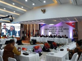 9 Parpol Ditetapkan Lolos ke Senayan