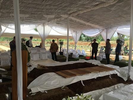 Ibunda SBY Dimakamkan Satu Lokasi dengan Menantu Hatta Rajasa
