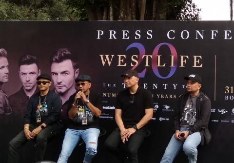 Konser di Borobudur dan Sam Poo Kong, Westlife Janjikan Kemegahan