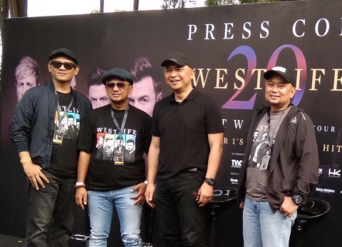 Antusiasme Tinggi terhadap Konser Westlife di Borobudur