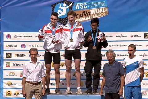 Atlet Junior Panjat Tebing Sabet Perunggu di Italia