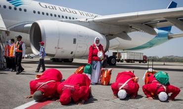 Seluruh Jemaah Haji Gelombang I Telah Meninggalkan Mekkah