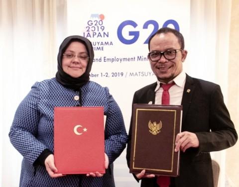 Indonesia dan Turki Jalin Kerja Sama Ketenagakerjaan