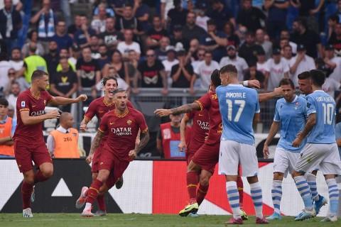 Lazio Berbagi Poin dengan Roma