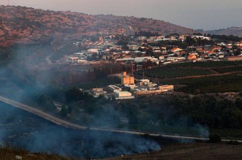 Israel dan Hizbullah Saling Luncurkan Roket di Perbatasan