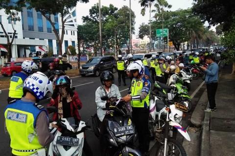 Ribuan Motor Terjaring Operasi Patuh Jaya Hari Ketiga