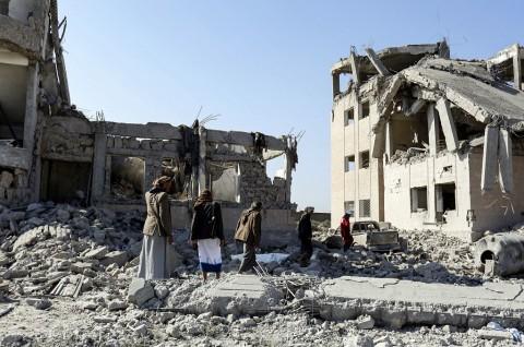 Serangan Udara di Penjara Yaman Tewaskan 100 Orang