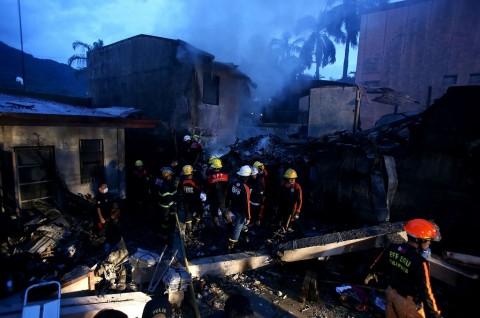 Pesawat Ambulans Filipina Jatuh, 9 Orang Tewas