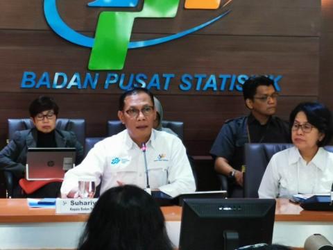 BPS Catat Inflasi Agustus 0,12%