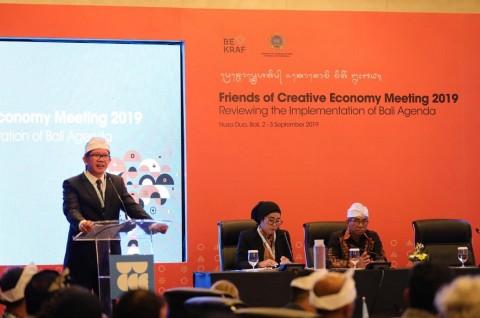 Bekraf dan Kemenlu Bahas Pengembangan Ekonomi Kreatif