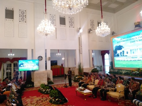 Jokowi Ogah Direcoki Soal Penyusunan Kabinet