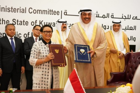 Indonesia, Kuwait Agree to Work Closely on Various Issues