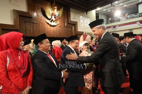 120 Anggota DPRD Jateng Resmi Dilantik