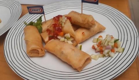 Resep Lumpia Rendang Keju ala Chef Degan