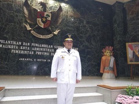 Wakadishub DKI Dilantik Jadi Wali Kota Jakut