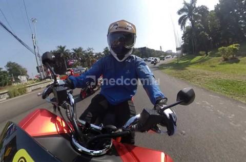 Bikers Agresif, Bisa Dilihat dari Cara Pegang Setang Motor