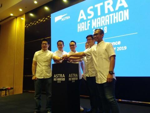 Peringati Event Kelima, Astra Half Marathon Bidik 4000 Peserta