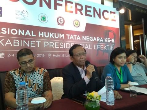 Jokowi Didorong Bentuk Kabinet Presidensial Efektif