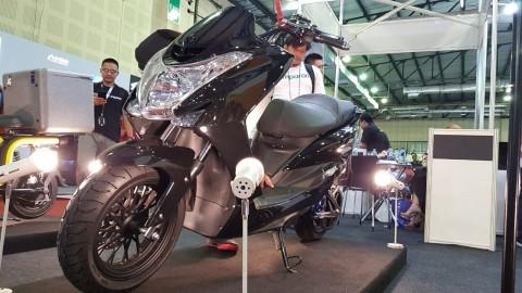 United MG1, Bakal Rival Honda PCX Listrik?