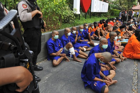 Polda Banten Tangkap 97 Pelaku Curanmor