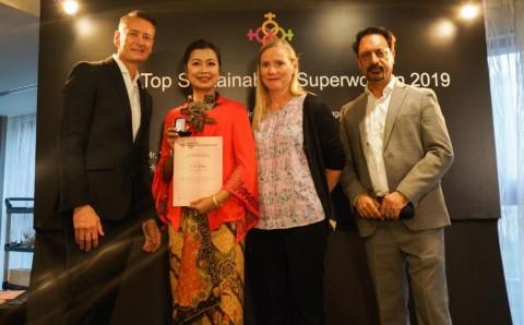 Direktur Keuangan BPJS Ketenagakerjaan Raih Asia's Top Sustainability Superwomen