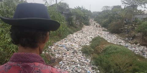 Kontainer Sampah bakal Diletakkan di Kali Jambe