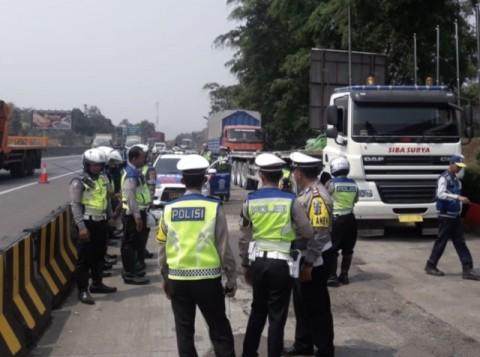 Polres Purwakarta Perketat Pengawasan Mobil Muatan