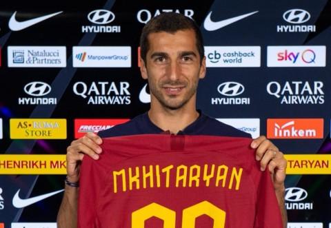 Dipinjam Roma, Mkhitaryan Belum Tentu Kembali ke Arsenal