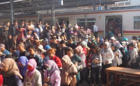 Pengamanan di Stasiun Manggarai Dipertebal