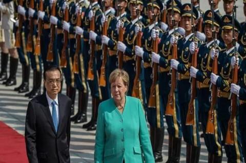 Kanselir Jerman: Tiongkok Harus Jamin Kebebasan Hong Kong