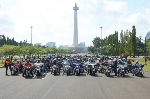 Puluhan Bikers Indonesia Bakal Touring 3 Tiga Negara