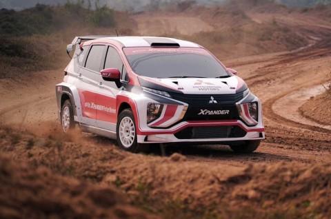 Mitsubishi Xpander AP4 Uji Coba di Merdeka Sprint Rally 2019
