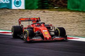 Lanjutkan Tren Positif, Leclerc <i>Pole Position</i> di GP Italia