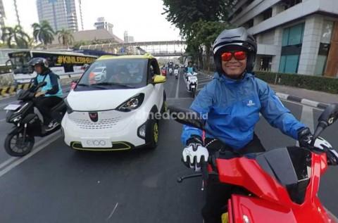 BPPT Sosialisasi Kendaraan Listrik dengan Cara Konvoi