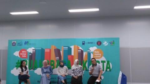 Perpustakaan Mikro Bakal Dibangun di Stasiun MRT Dukuh Atas