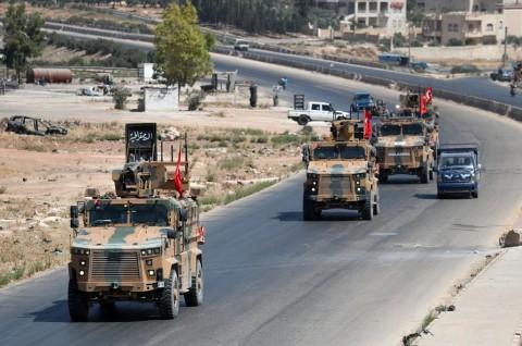 AS dan Turki Memulai Patroli Gabungan di Suriah