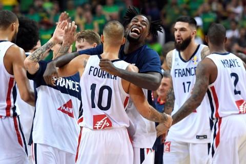 Kalahkan Lithuania, Prancis ke Perempat Final