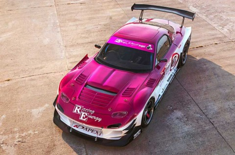 Modifikasi Mazda RX-7 Bergaya Drift Racing