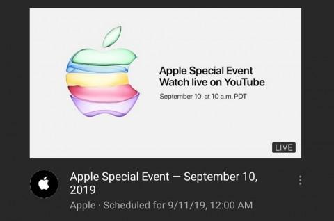 Pertama Kalinya, Apple Bakal Siarkan Acara Besarnya di YouTube