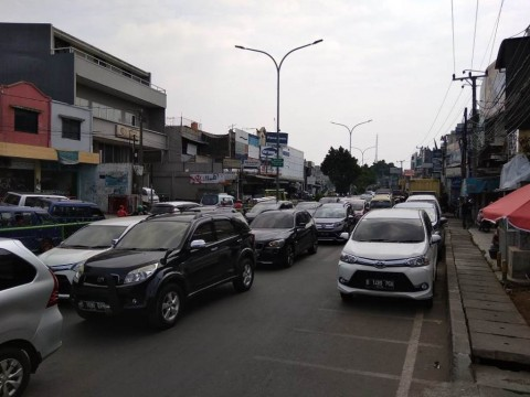 <i>Contraflow</i> di Depok Disebut Tambah Bikin Macet