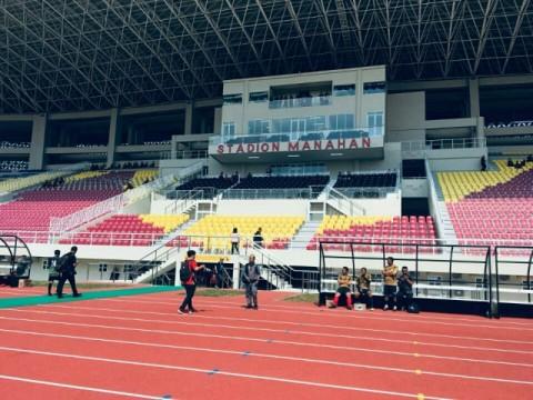 Peresmian Stadion Manahan Tunggu Lanskap