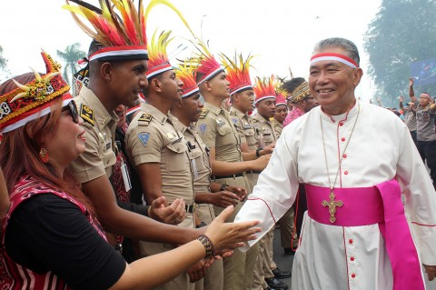 Masyarakat Kalbar Gelar Doa Bersama untuk Negeri di Pontianak