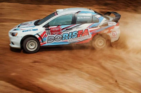 Kejurnas Sprint Rally Seri-1, Milik Rifat Sungkar
